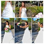 Wedding - bride — Stock Photo