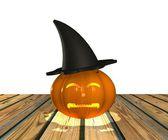 Cadılar bayramı balkabağı - 3d — Stok fotoğraf