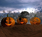 Halloween - 3D — Stock Photo