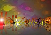 Halloween background - 3D — Stock Photo