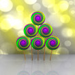 Sweet Christmas tree - 3D — Foto de Stock