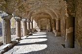 Norman klasztor - lipari, sycylia — Zdjęcie stockowe