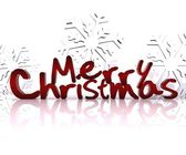 Merry Christmas - 3D — Foto Stock