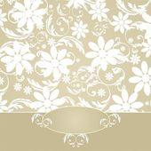 Elegant Flower Decoration — Stock Vector