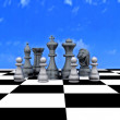 3d illustration - Chess — Stock Photo