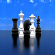 Stock Photo: 3d illustration - Chess