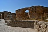 Cartagine - resti delle antiche terme — Foto Stock