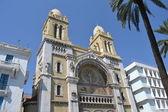 Křesťanský kostel v tunisu, hlavní město tuniska — Stock fotografie