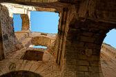 罗马圆形剧场在 el jem-突尼斯、 非洲的城市 — 图库照片
