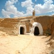 Troglodyte house in the village of Matmata - Tunisia, Africa — Stock Photo