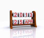 Date - April 25 — Stock Photo