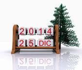 El 25 de diciembre - 3d — Foto de Stock