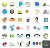 Set - logos — Stock Vector