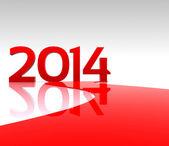 новый год... 2014 — Стоковое фото