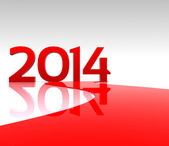 New year ... 2014 — Stock Photo