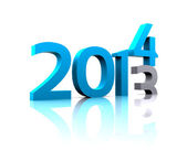 Coming 2014 — Stock Photo