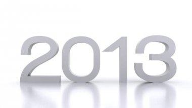 Hier kommt das neue jahr... 2014 — Stockvideo