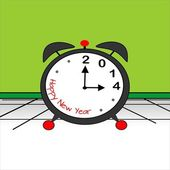 New Year, 2014 — Stock Vector