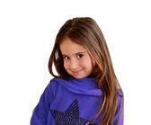 Bambina bambino sorridente — Foto Stock