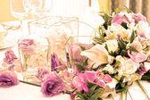 Tabla de la novia y el novio — Foto de Stock