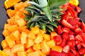 Insalata di frutta di stagione — Foto Stock