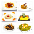 Collage Menu — Stock Photo #27400345