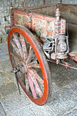Sicilian cart, brightly painted — Stock Photo