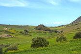 Natural Mediterranean landscape — Stock Photo