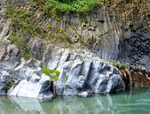 Alcantara Gorges — Stock Photo