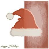 Jultomten hatt — Stockvektor