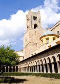 Klooster van de kathedraal van Monreale — Stockfoto