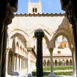Cloister of the Cathedral of Monreale — Foto Stock