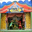 Sicilian puppet theater — Stock Photo
