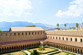 Cloister of the Cathedral of Monreale — Stock fotografie