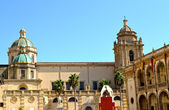 Cathedral of the old town of Mazara del Vallo — Stock Photo