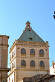 Palace of the historic center of Marsala — Stock Photo
