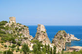 Tuna Scopello - Sicily's coast — Stock Photo