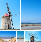 The Salt of Sicily — Stock Photo