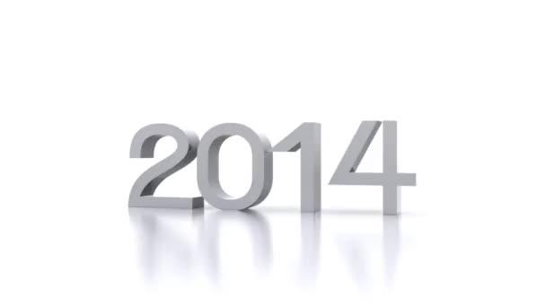 El nuevo 2015 — Vídeo de stock
