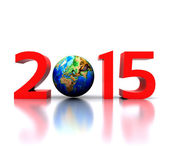 New Year - 2015 — Stock Photo
