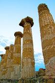 Vadi tapınaklar, agrigento — Stok fotoğraf