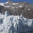 Stock Photo: Majorie Glacier in Glacier Bay National Park in Alaska