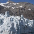 Majorie glacier dans le parc national glacier bay en alaska — Photo