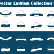 Royalty-Free Stock Vector Image: Vector Emblem Collection 1