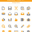 Business Icons v1 (Orange Series) — ベクター素材ストック