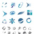Abstract icons - 1 — Stock Vector