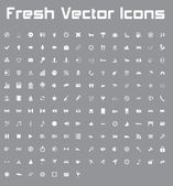 Fresh Vector Icons (light version) — Stock Vector