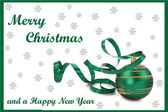 Christmas Card 09 — Stock Vector