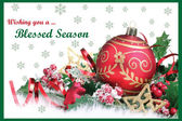 Christmas Card 07 — Stock Vector
