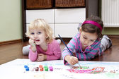 Happi kids drawing — Stock Photo